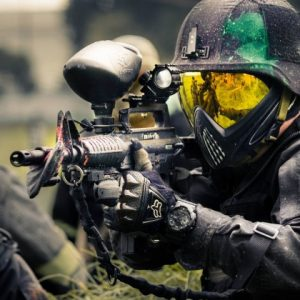 Maşukiye'de Paintball